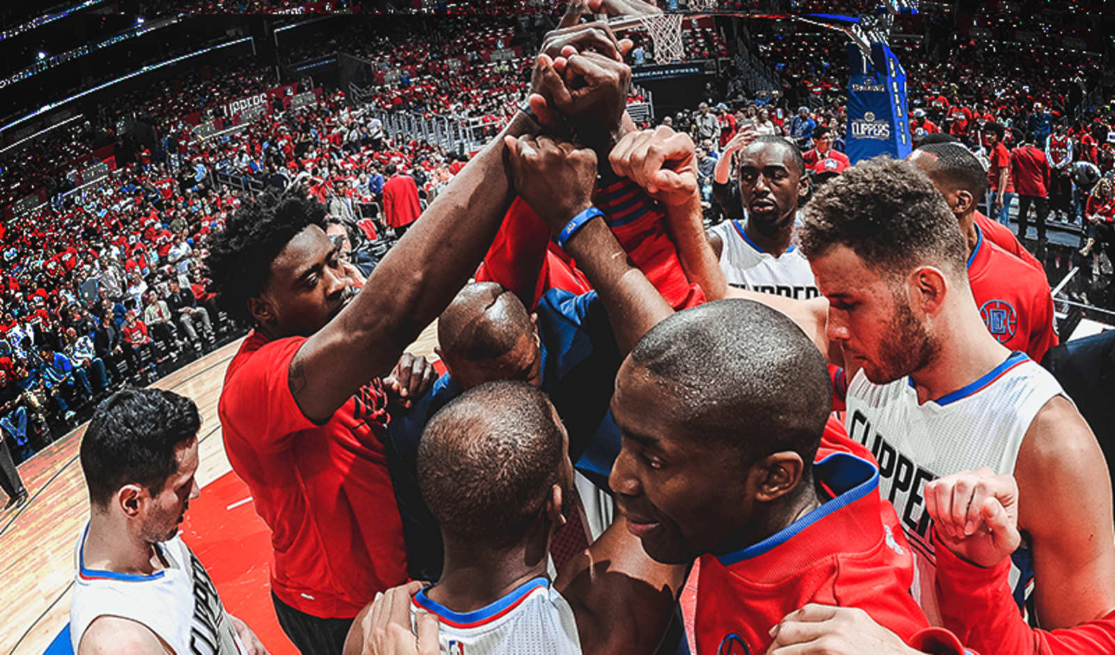 Image of LA Clippers Team Huddle | LA Clippers