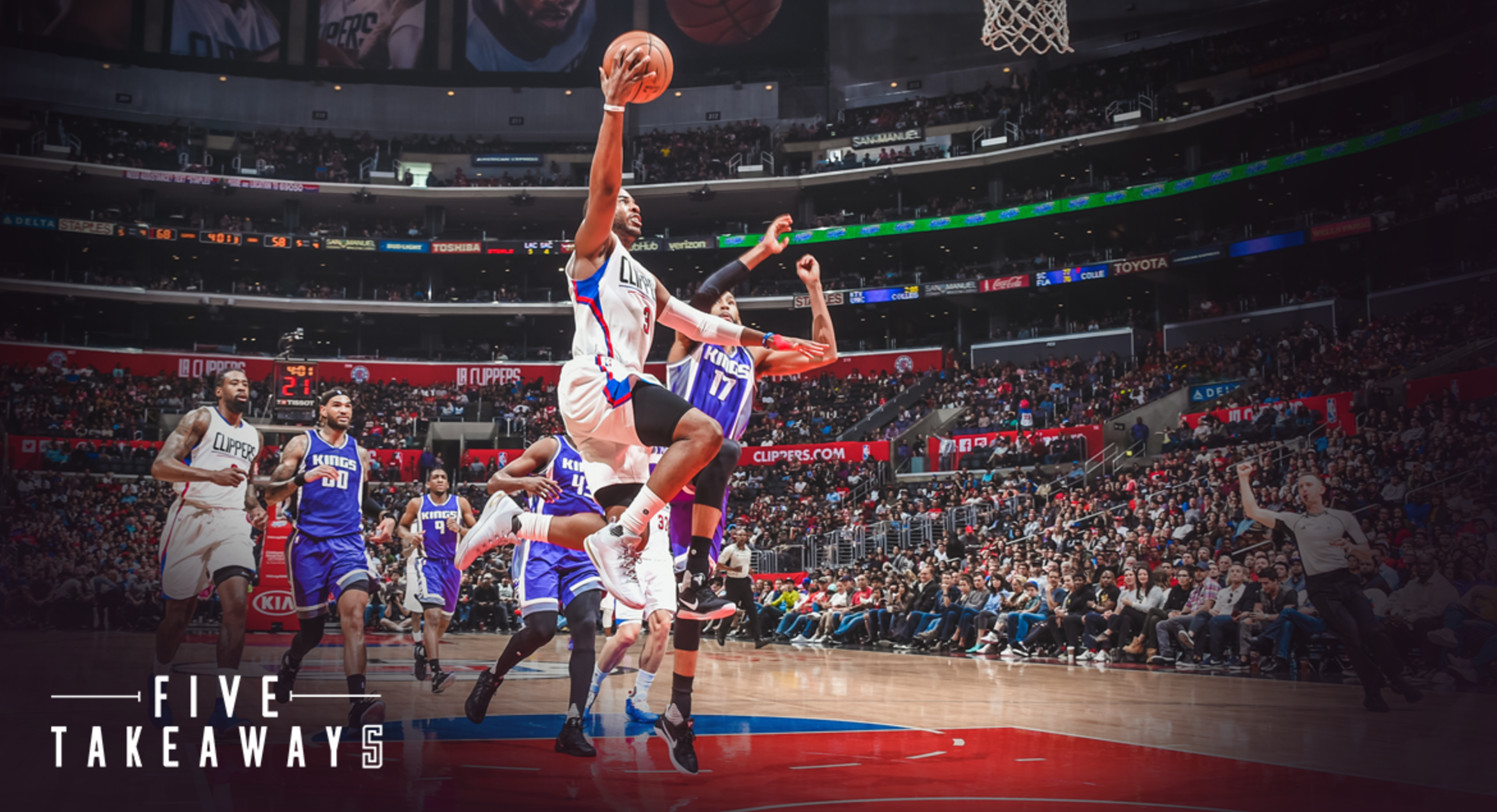 Five Takeaways from Clippers' 98-87 Loss to Sacramento Kings