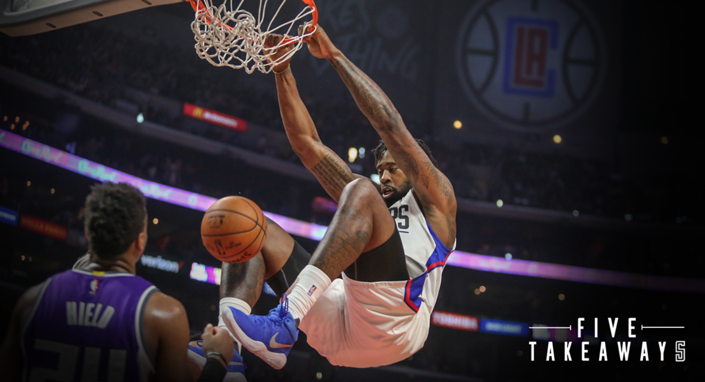 Five Takeaways: Clippers Top Kings, Clinch Homecourt Advantage For Series Against Jazz