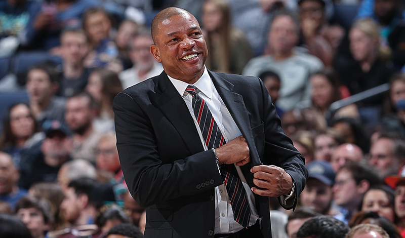 Exit Interviews: Doc Rivers, Lawrence Frank, Tobias Harris | 04/12/18