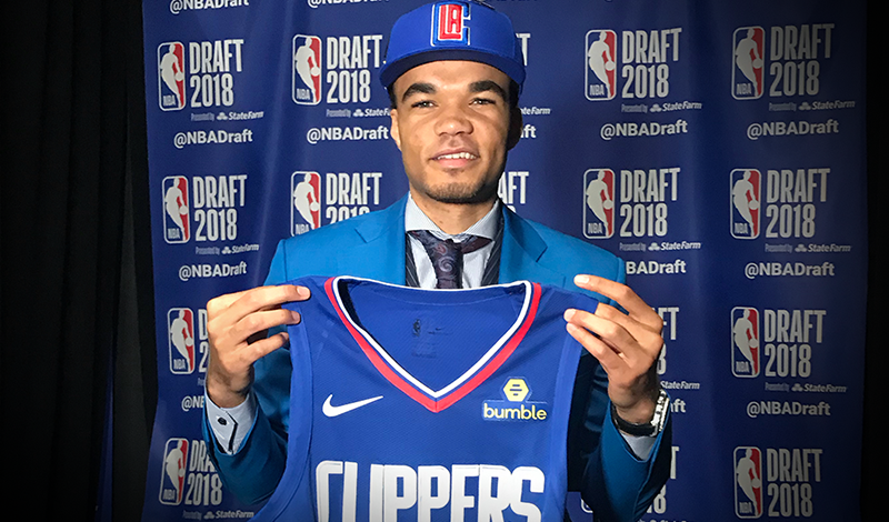 LA Clippers Select Jerome Robinson With 13th Overall Pick In 2018 NBA Draft