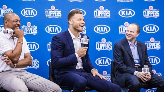 Press Conference: L.A. CLIPPERS RE-SIGN FIVE-TIME ALL-STAR BLAKE GRIFFIN