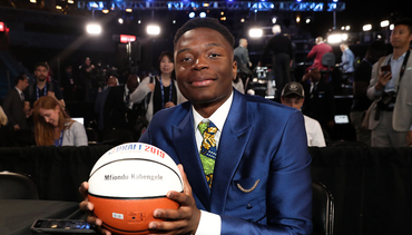 L.A. Clippers Acquire Draft Rights to Mfiondu Kabengele