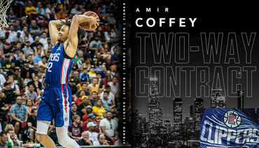 L.A. Clippers Sign Amir Coffey
