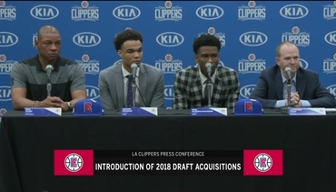 2018 LA Clippers Rookie Introductions | 6/25/18