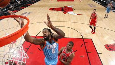 In-Game Shots: Clippers vs Bulls