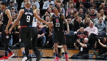 In-Game Shots: Clippers vs Jazz