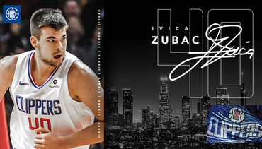 L.A. Clippers Sign Center Ivica Zubac