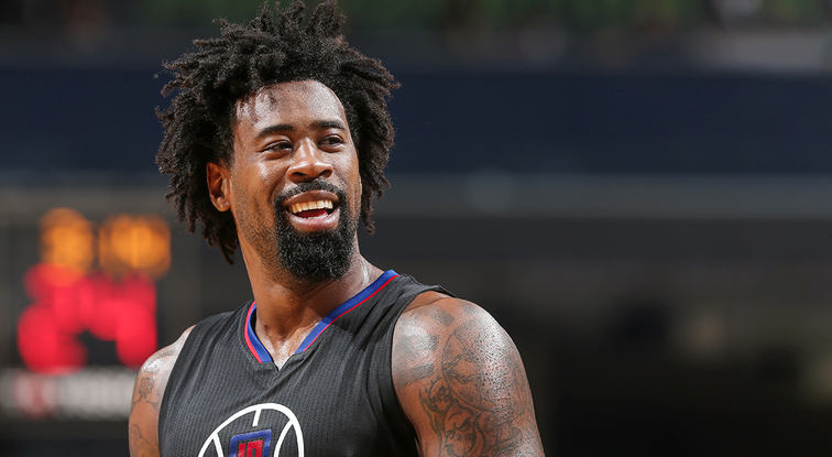 Groovy Press Release Deandre Jordan Selected As Western Conference All Hairstyle Inspiration Daily Dogsangcom