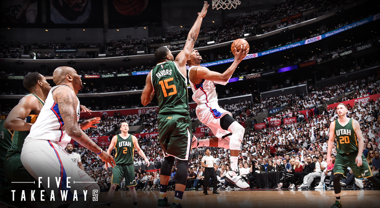 5 Takeaways: Clippers Season Ends with 104-91 Game 7 Loss to Jazz