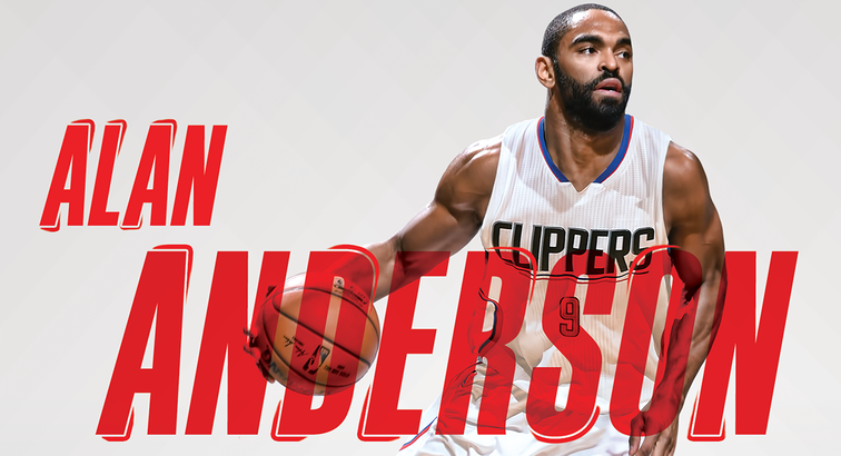 Image of Alan Anderson - Press Release | LA Clippers