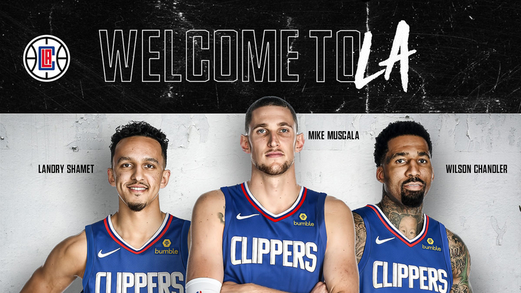 L.A. Clippers Acquire Chandler, Muscala, Shamet And Two First Round Draft Picks