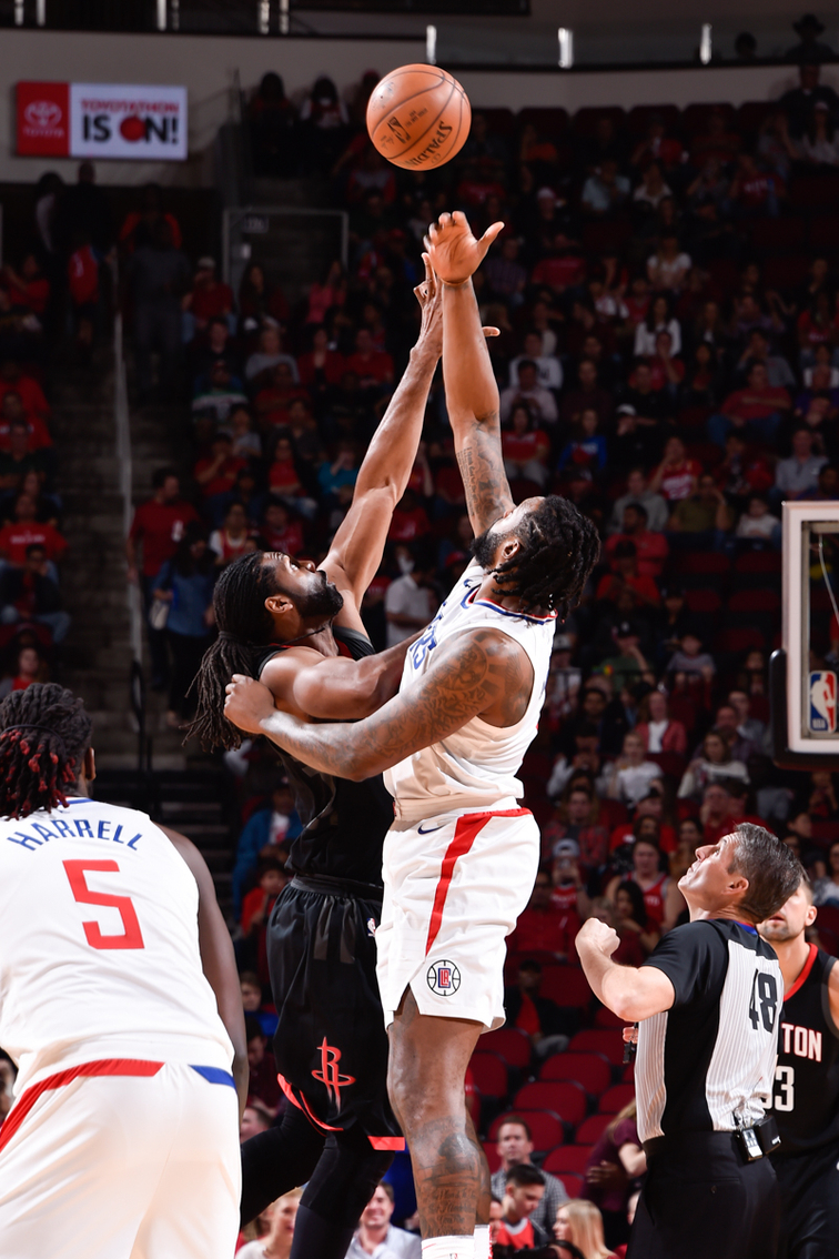 In-Game Shots: Clippers vs Rockets