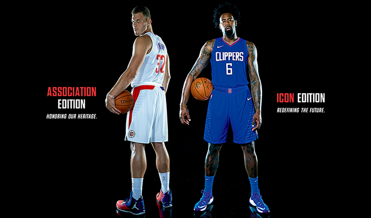 1ab1674ee22 Press Release  L.A. Clippers Unveil 2017-18 Nike Uniforms