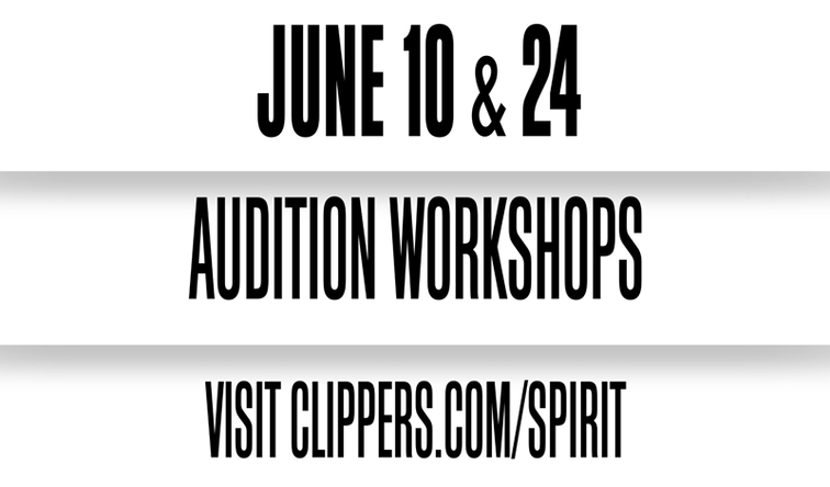 LA Clippers Spirit Pre-Audition Workshops Banner