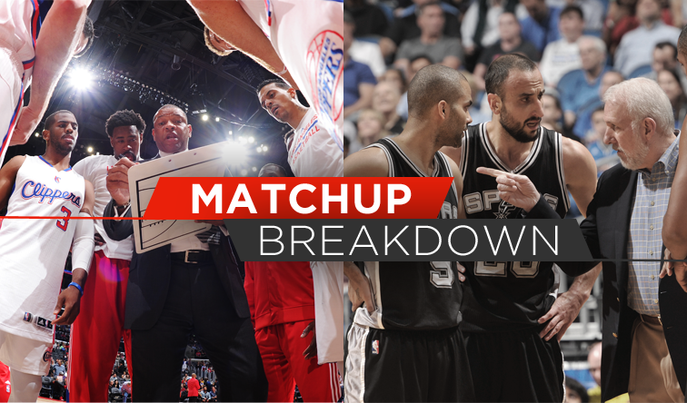 d001926d9 Matchup Breakdown  Clippers Vs. Spurs