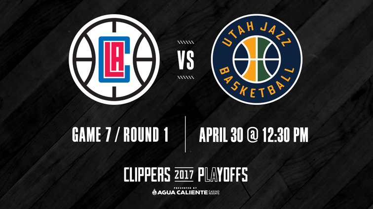 Pregame Report: Clippers' Playoff Fate vs. Jazz Comes Down to Another Game 7