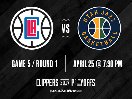 Pregame Report: Clippers Aim For 3-2 Series Edge in Pivotal Game 5 vs. Jazz