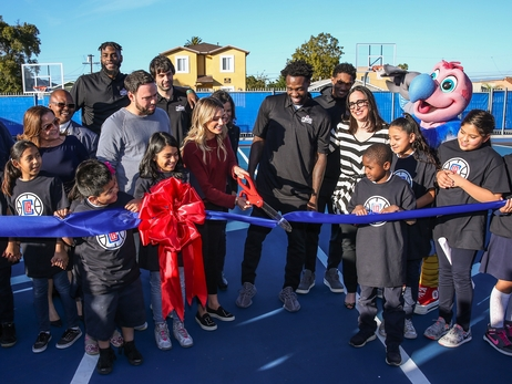 107th Elementary School Playground Shines, Thanks to Support from Patrick Beverley
