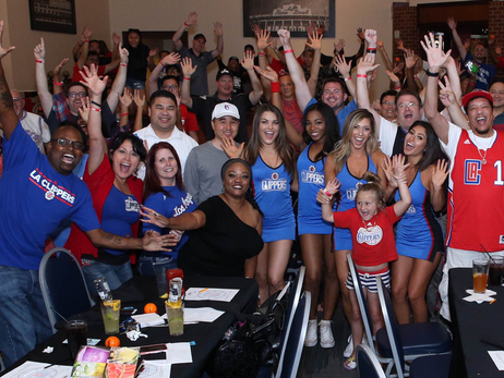 Clippers' Season Ticket Holders Celebrate At Draft Party