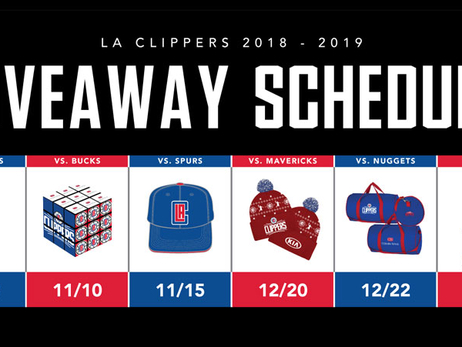 Press Release: Clippers 2018-19 Giveaways To Include Jerry West, Lou Williams And Ralph Lawler Bobbleheads