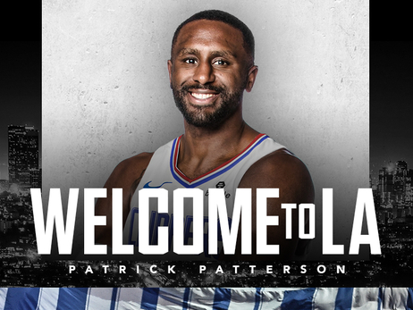 L.A. Clippers Sign Forward Patrick Patterson