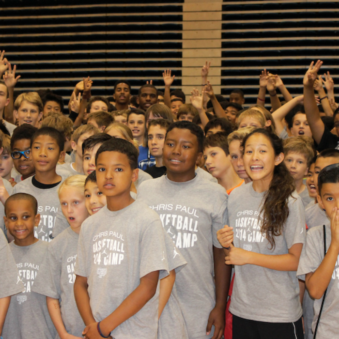 Photos from Chris Paul's basketball camp in San Diego