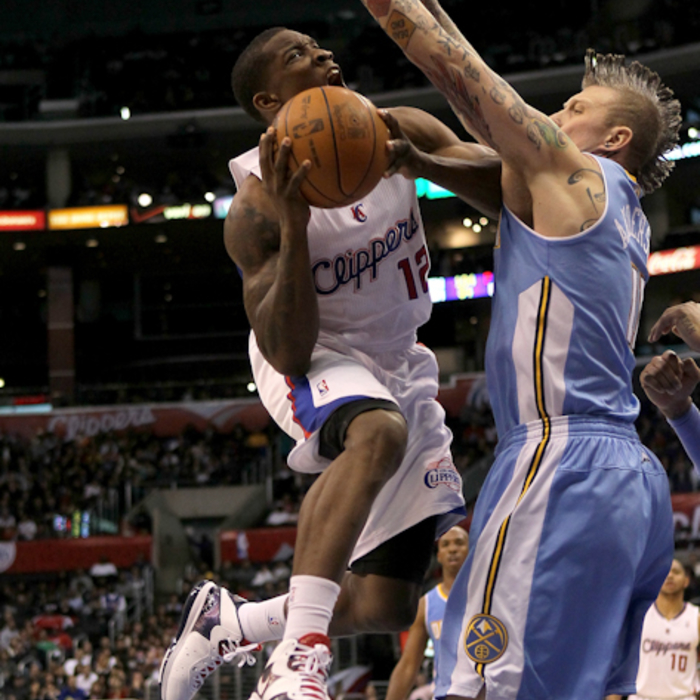 Clippers vs. Nuggets - 12/5/10