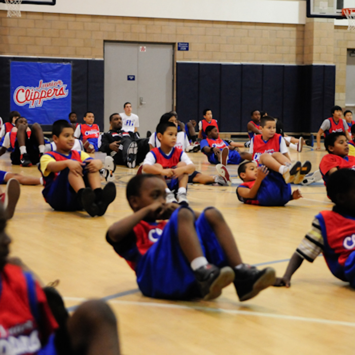 Jr. Clippers Clinic - LACES - 1/8/11