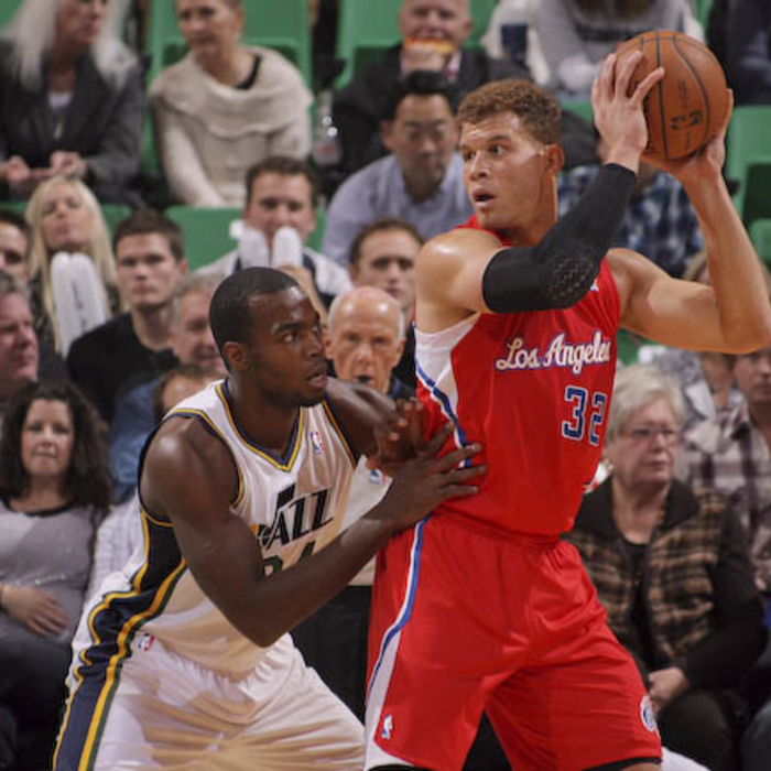 Game photos of Clippers vs. Jazz - 12/03/12 - 1