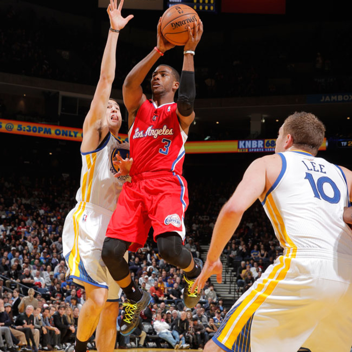 Game photo of CLIPPERS VS WARRIORS - 1/21/13 - 1