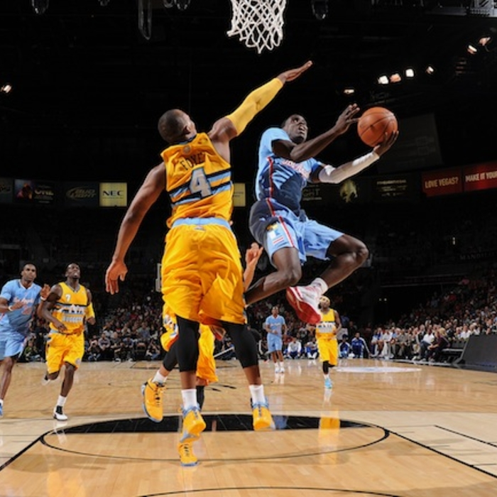 Clippers vs. Nuggets   10/19/2013