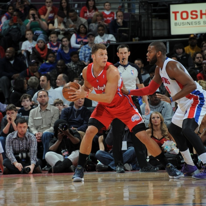 Clippers vs. Pistons   1/20/2014