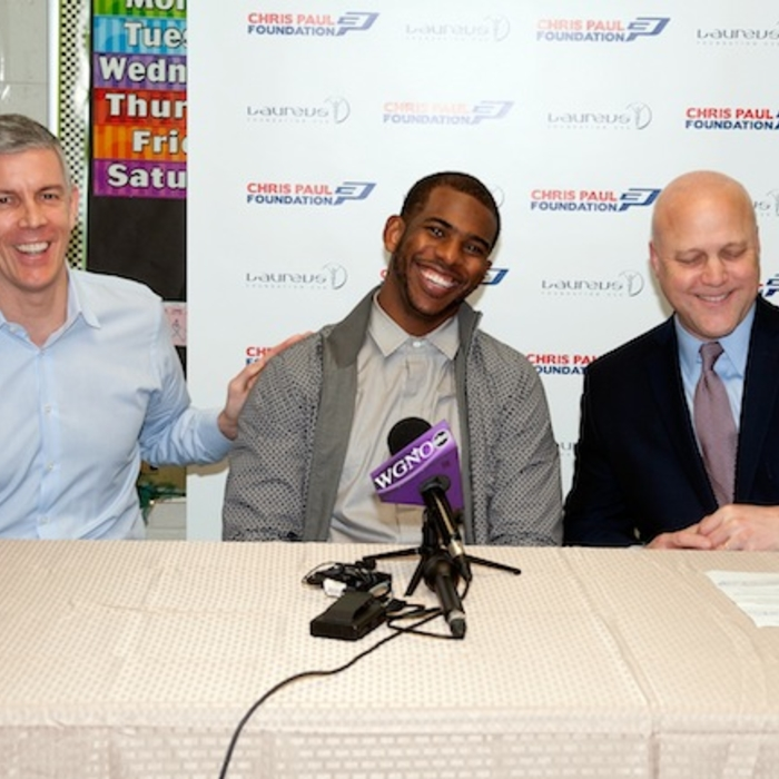 Chris Paul Laureus Sport for Good Foundation USA Induction
