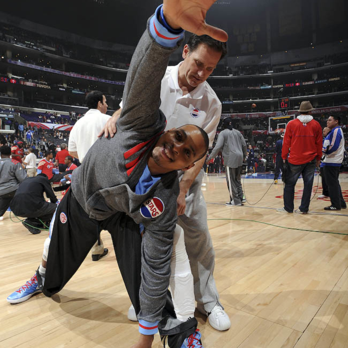 Clippers vs. Nuggets - 2/22/12