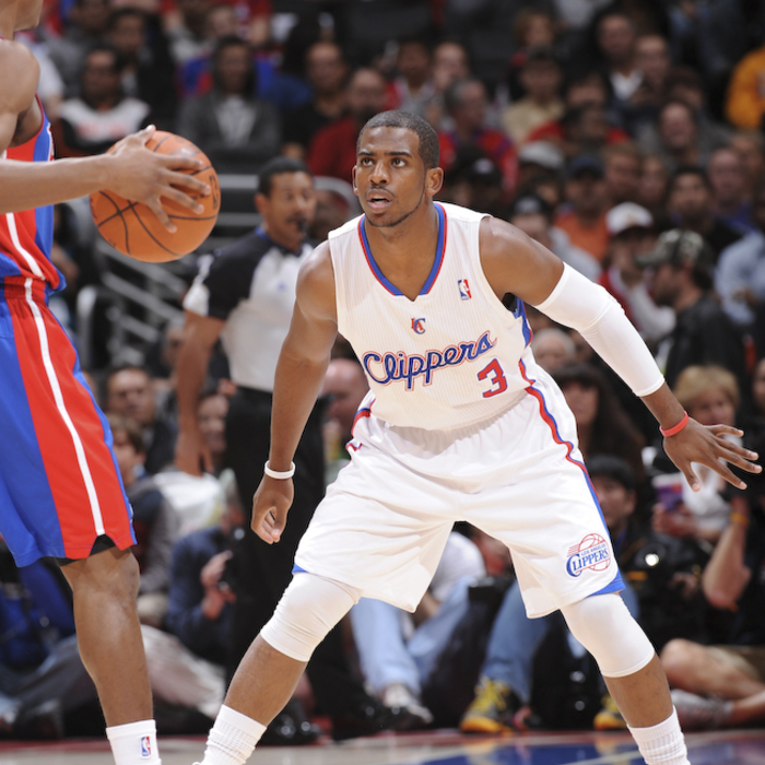 Clippers vs. Pistons - 3/18/12