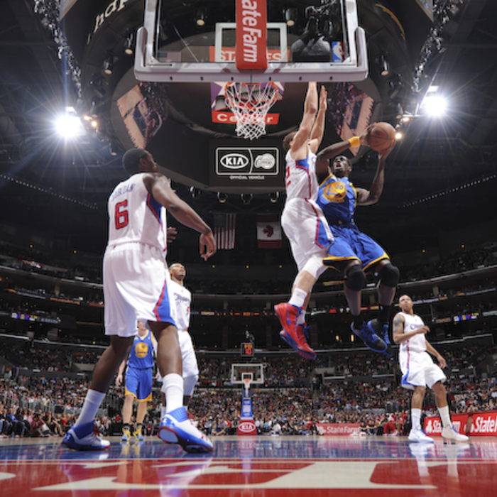 Clippers vs. Warriors - 3/11/12