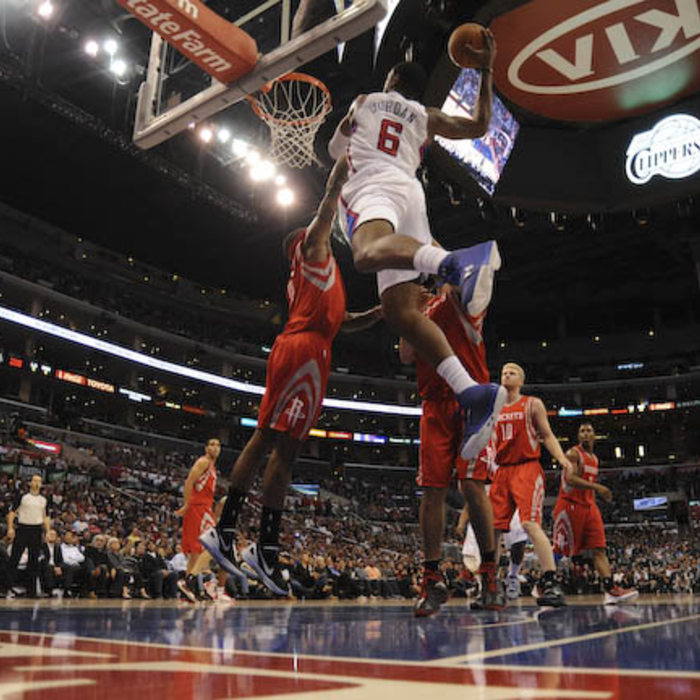 Clippers vs. Rockets - 1/4/12