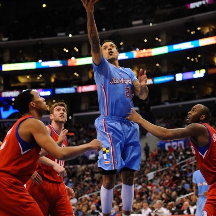 Clippers vs. 76ers in-Game Action Photos   2/9/2014