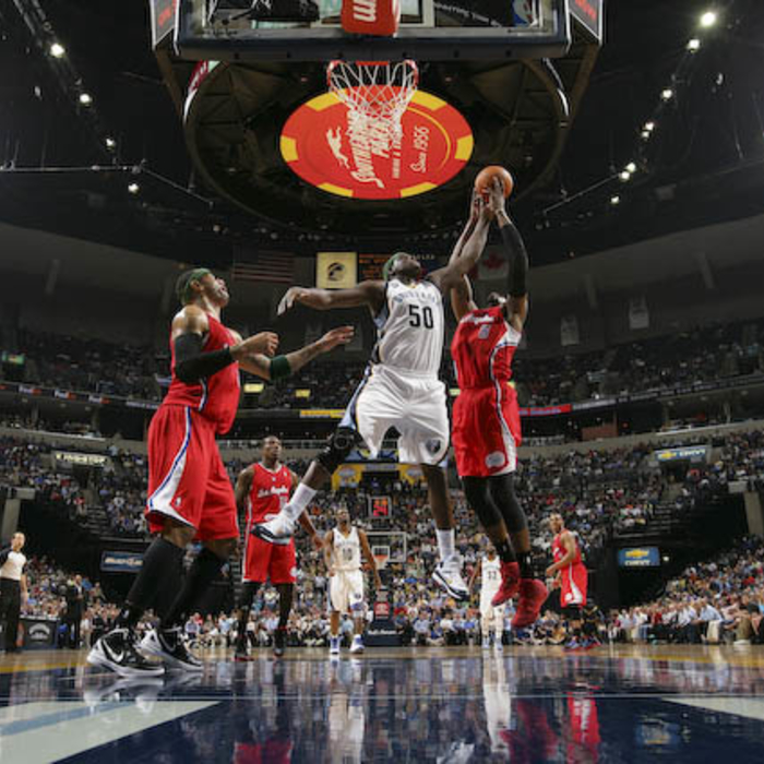 Clippers vs. Grizzlies - 4/9/12