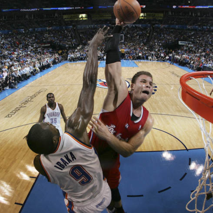 Clippers vs. Thunder - 4/11/12