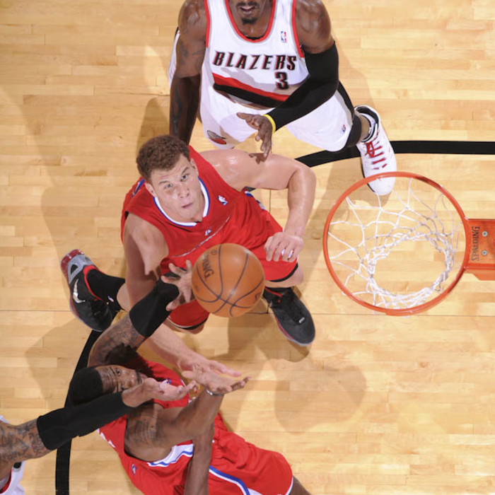 Clippers vs. Trail Blazers - 1/10/12