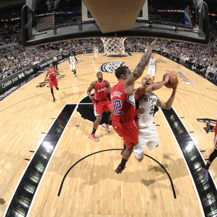 Clippers vs. Spurs Game 1 - 5/15/12