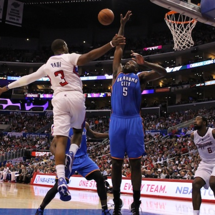 Clippers vs. Thunder: Game Action | 4/9/2014