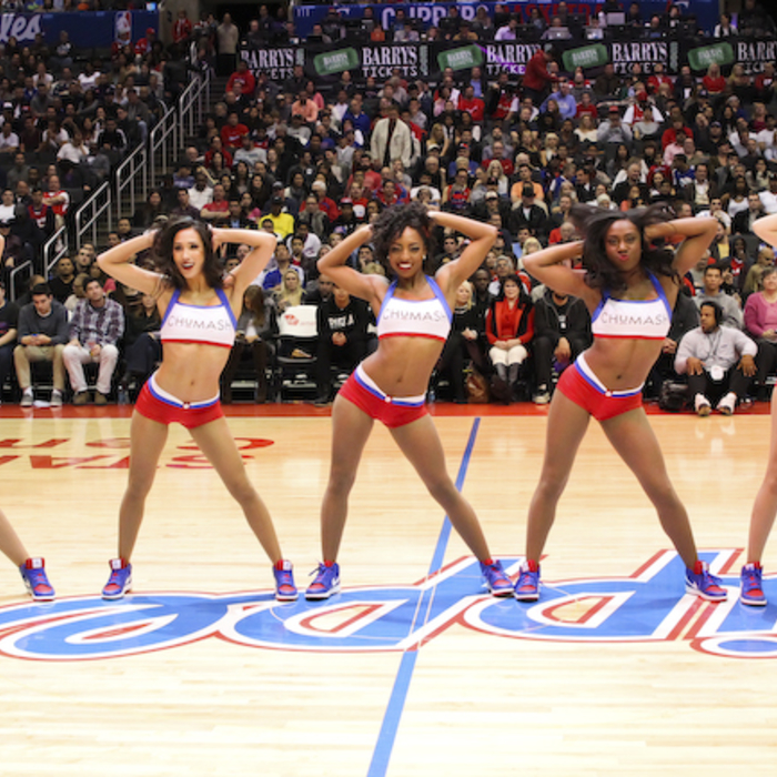 Spirit Dance Team: Clippers vs. Nuggets – 12/21/13 - 1