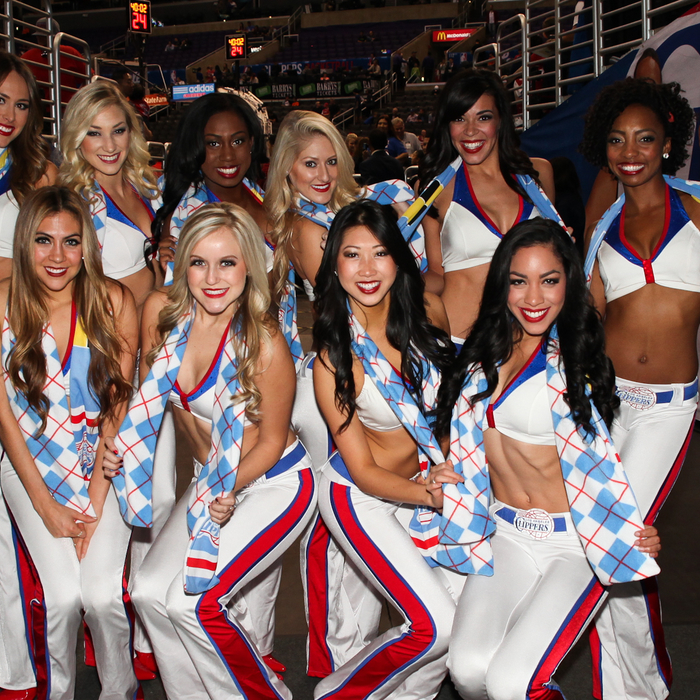 Spirit Dance Team | Clippers vs. Pacers - 12/1/13