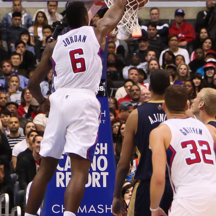 In-Game Action Photos | Clippers vs. Pelicans - 3/1/14