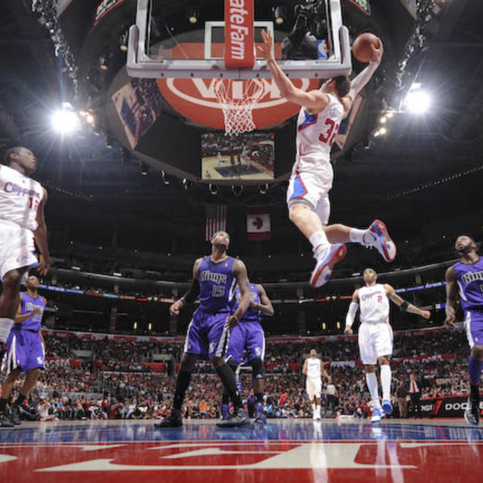 Clippers vs. Kings - 4/7/12