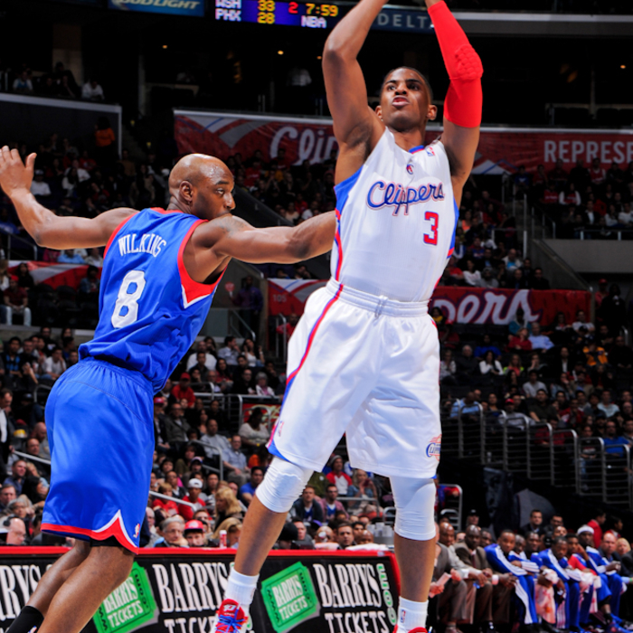 Game images from Clippers vs. 76ers - 3/20/2013