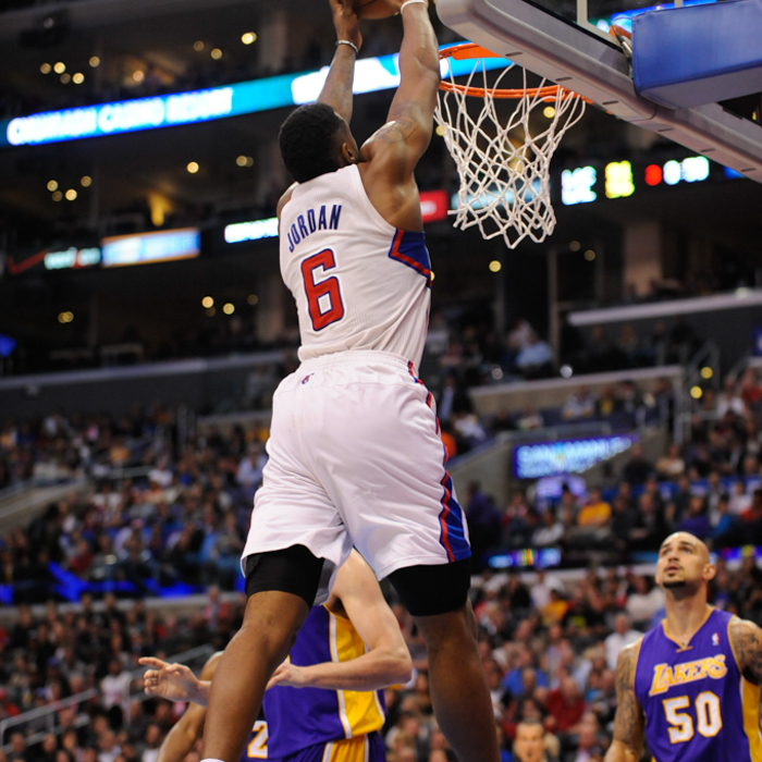 In-Game Action Photos: Clippers vs. Lakers - 1/10/14